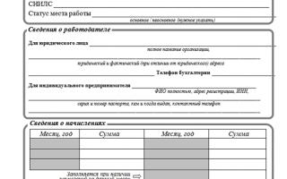 Справка о заработной плате для субсидии: скачать образец, как заполняется форма 1 о зарплате и прочих начислениях, скачать бланк и пример заполнения за 6 месяцев