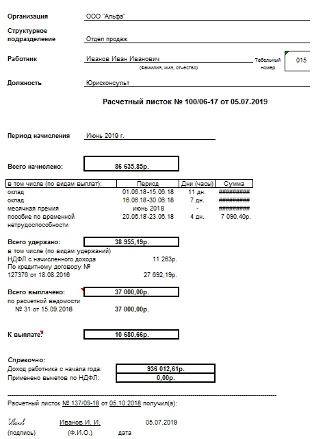 Журнал выдачи расчетных листков: скачать образец, нужно ли вести учет и регистрацию листов по заработной плате, обязателен ли документ в бюджетном учреждении?