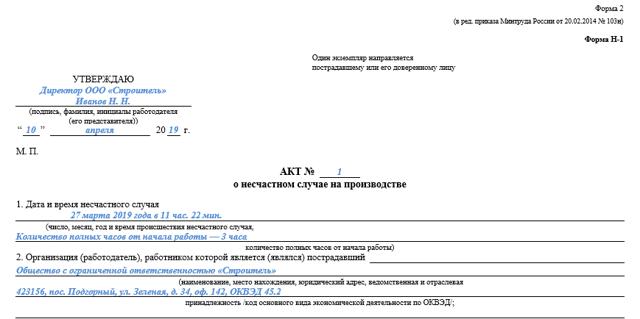 Протокол опроса пострадавшего при несчастном случае форма 6: скачать бланк и образец заполнения, правила оформления, сроки составления документа