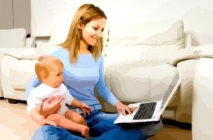 Неполный рабочий день в отпуске по уходу за ребенком до 1.5 и 3 лет: как оформить и сохранить пособие, образец заявления