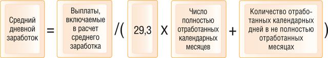 Средний заработок для расчета отпускных: как рассчитать дневную зарплату, примеры, что входит в период, а что не учитывается, какие выплаты включаются, формулы