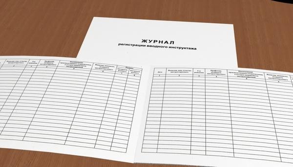 Журнал регистрации вводного инструктажа по охране труда: образец заполнения, скачать бланк и пример для сторонних организаций, порядок оформления, срок хранения