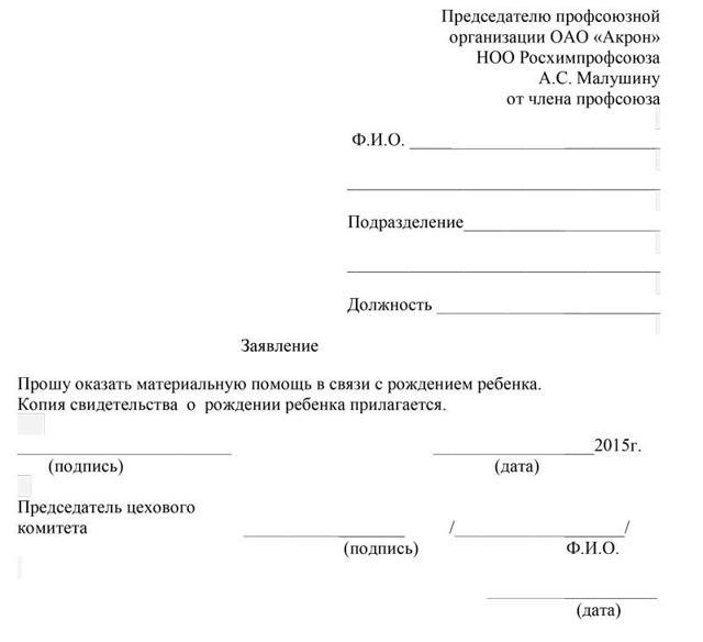 Заявление на материальную помощь в связи с лечением: образец текста на мат поддержку при болезни и операции