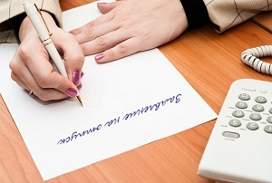 Заявление на отпуск директора: скачать образец, должен ли писать, на чье имя составлять, оформляет ли единственный учредитель на самого себя